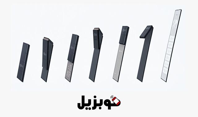 أشكال هاتف Oppo X Nendo